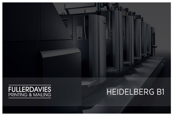 Heidelberg B1 Press