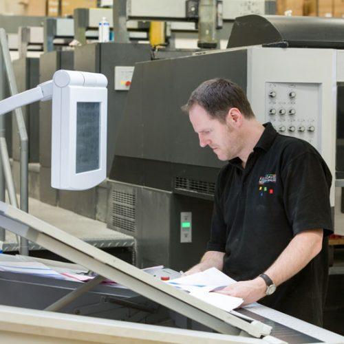 Professional printing machine minder