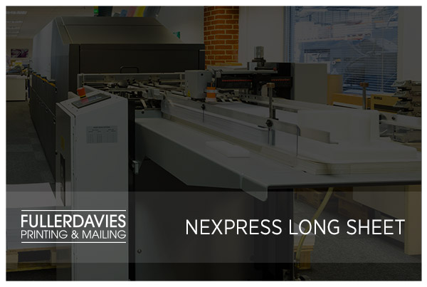 Digital Kodak NexPress Long Sheet