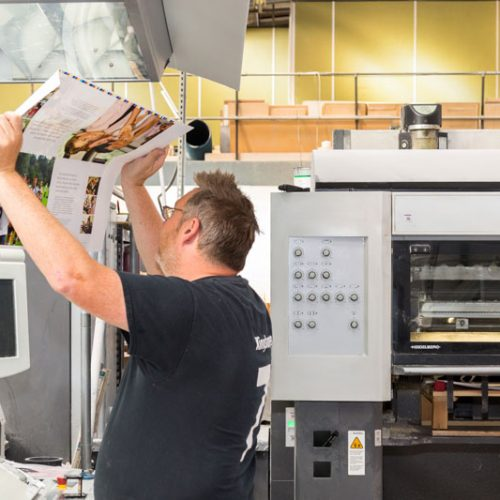 Machine minder print check