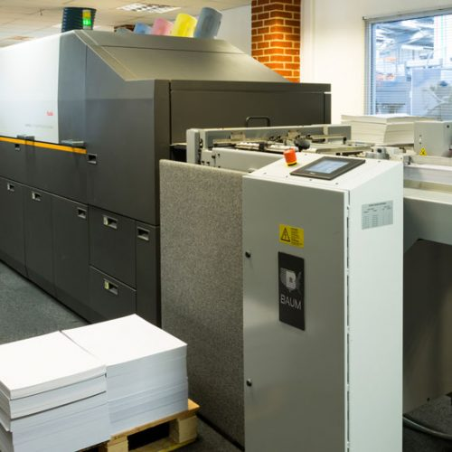 Kodak digital printing press