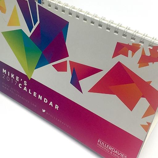 Fuller Davies Personalised Desk calendar 2017