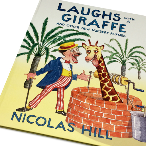 Laughs with a Giraffe Book